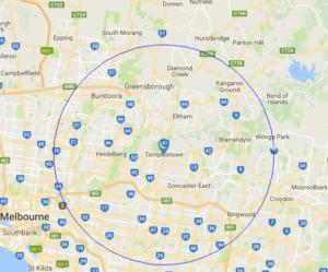 psychology psychologist home visit map melbourne